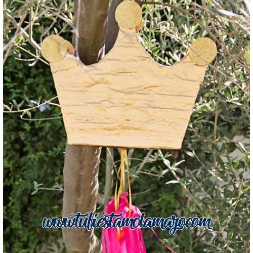 Piñata de Corona dorada