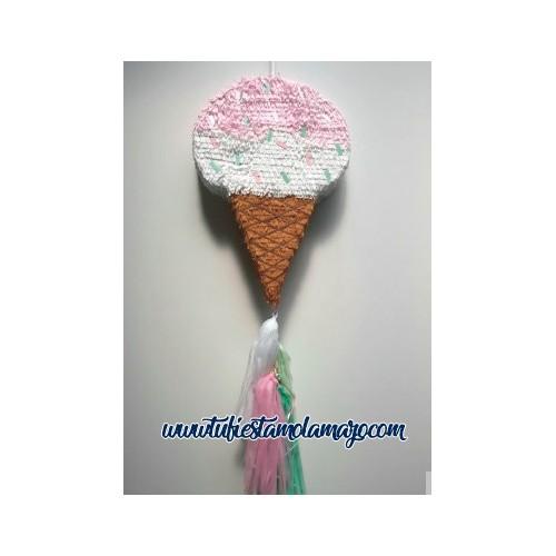 Piñata de cono helado
