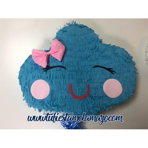 Piñata de Nube Azul