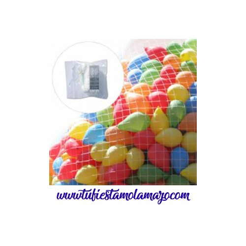 Red para suelta de globos