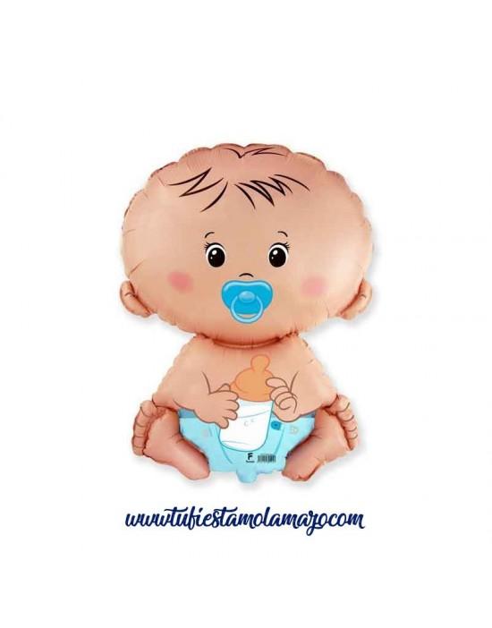 Globo bebe azul