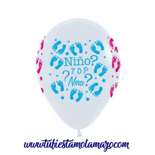 Globos Baby Shower Niño o Niña