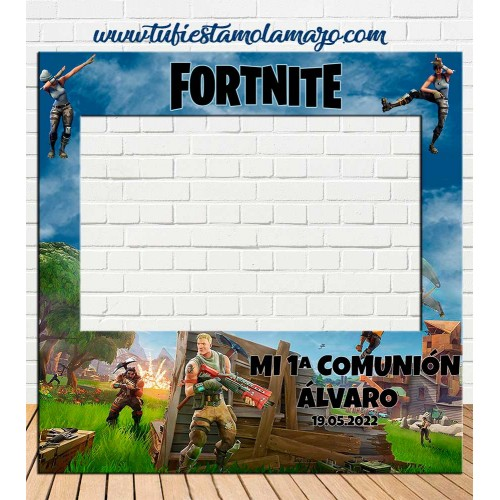 Photocall Comunión fortnite