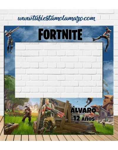 Marco de Polaroid de Fortnite