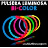 Pulseras Luminosas Bi-color