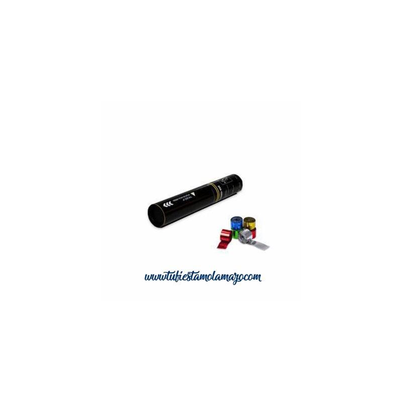 Cañón Manual 30 CMS Serpentina Metalizadas