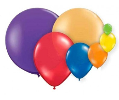globos de colores - Tu Fiesta Mola Mazo
