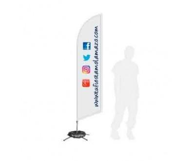 Tienda de Fly Banner Surf para eventos - Tu Fiesta Mola Mazo