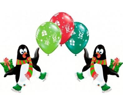 Globos para decorar tus fiestas de Navidad - Tu Fiesta Mola Moza