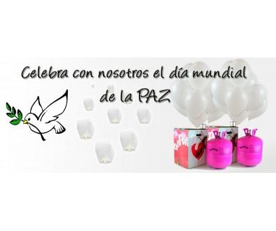 COMPRA globos para el día de la Paz AHORA- Tu Fiesta Mola Mazo