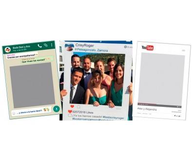 Photocall Instagram, Fiestas, Bodas y Cumpleaños - Tu Fiesta Mola Mazo