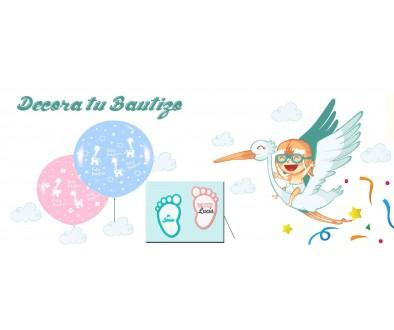 Tienda online photocalls y globos Bautizos ahora - Tu Fiesta Mola Mazo