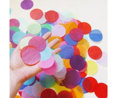 COMPRA Confeti redondo papel y brillo metalizado - Tu fiesta mola mazo